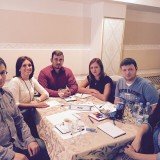 Команда молодежи на интеллектуальной игре