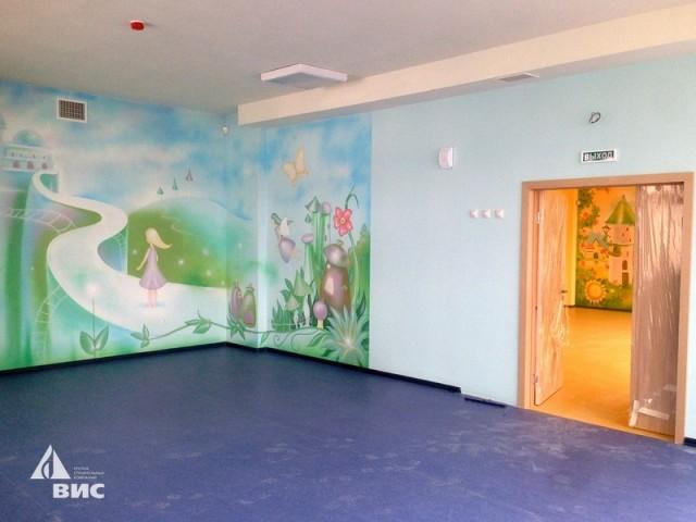Комната для игр в детском саду