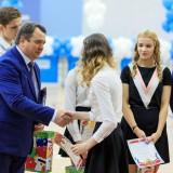 Воспитанники получают заслуженные награды