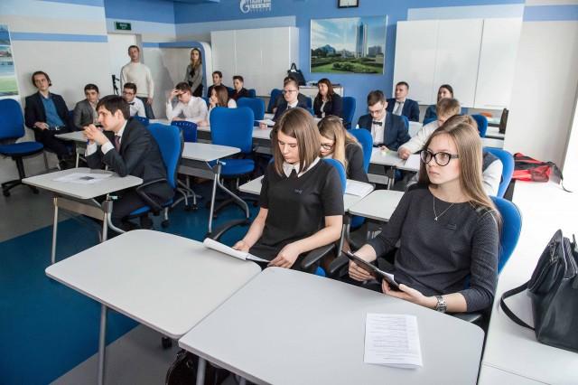 Учащиеся газпром-классов