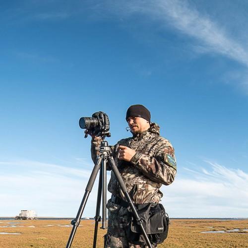 Фотограф Службы по связям с общественностью и СМИ ООО «Газпром добыча Ямбург» Данил Хусаинов
