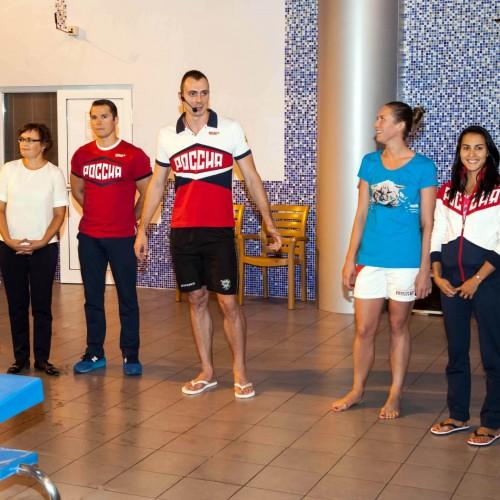 Олимпийцы из Нового Уренгоя встретились с воспитанниками ДЮСШ_Ямбург
