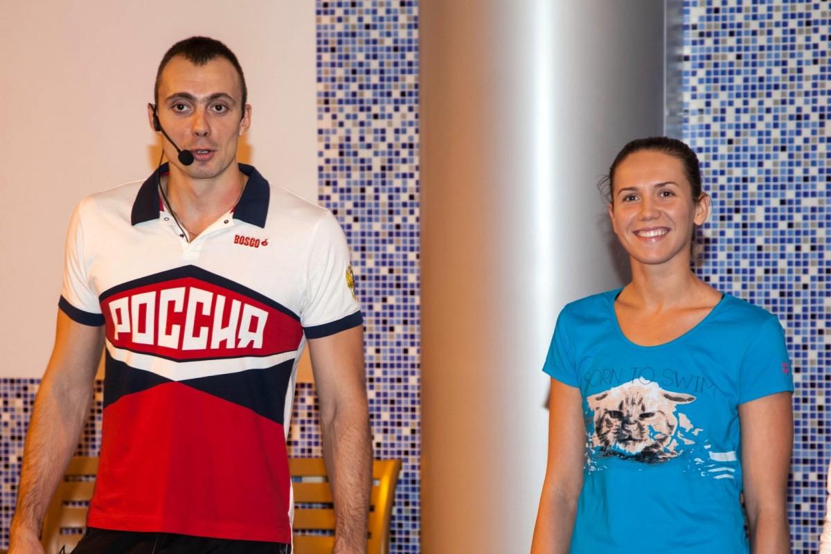 Анастасия и Сергей Фесиковы